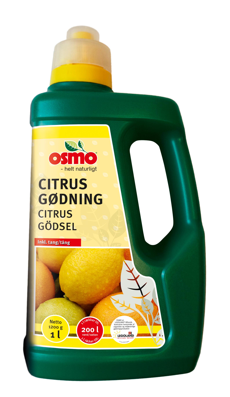 Citrontræ gødning