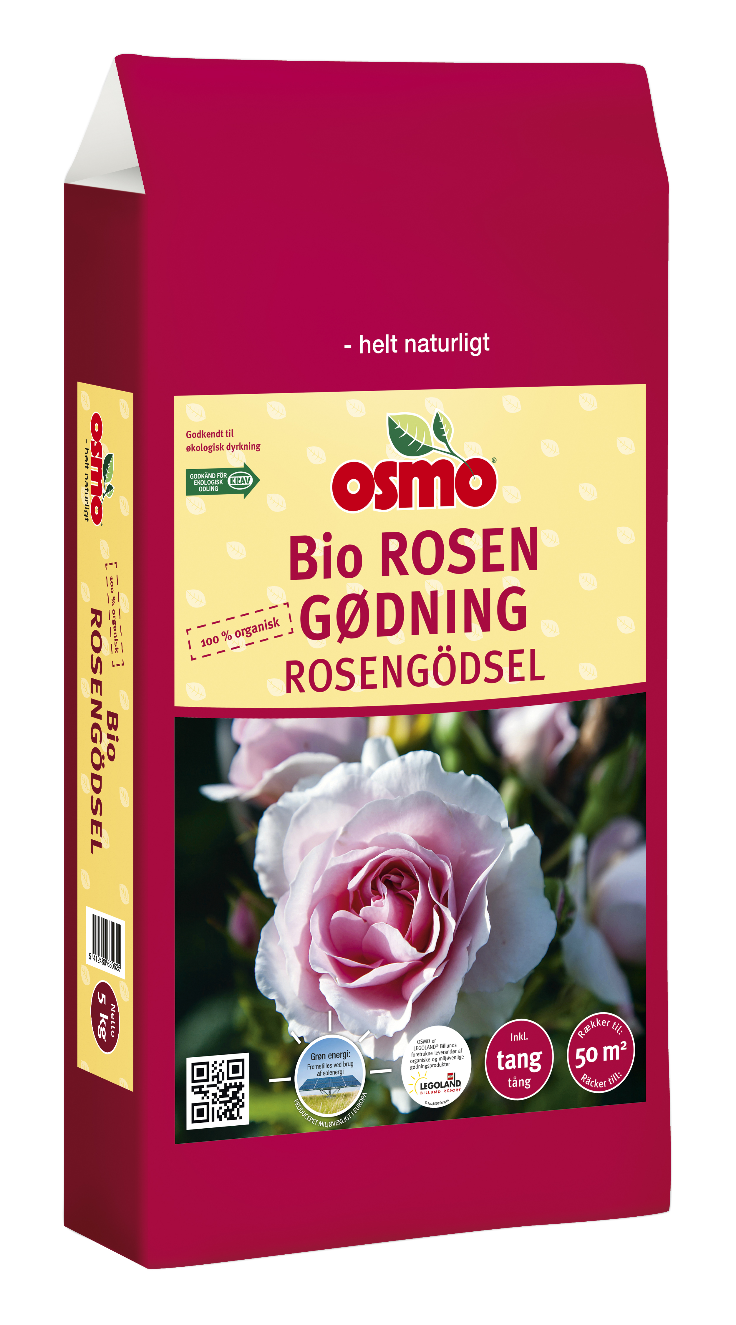 Afskårne Roser osmo bio rosengødning | roser gødning npk